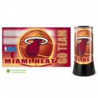 Miami Heat Rotating Team Lamp