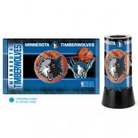 Minnesota Timberwolves Rotating Team Lamp
