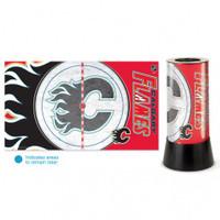 Calgary Flames Rotating Team Lamp