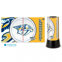 Nashville Predators Rotating Team Lamp