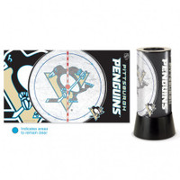 Pittsburgh Penguins Rotating Team Lamp