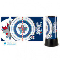 Winnipeg Jets Rotating Team Lamp