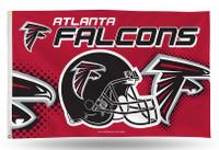 Atlanta Falcons Team Flag