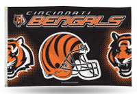 Cincinnati Bengals Team Flag