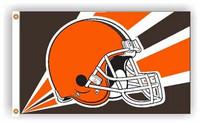 Cleveland Browns Team Flag