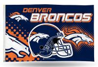 Denver Broncos Team Flag
