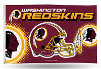 Washington Redskins Team Flag