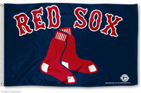 Boston Red Sox Team Flag