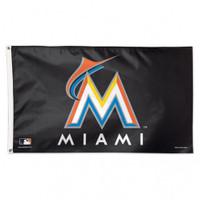 Miami Marlins Team Flag