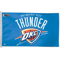 Oklahoma City Thunder Team Flag