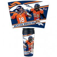 Denver Broncos 16oz Travel Mug