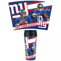 New York Giants 16oz Travel Mug