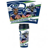 Seattle Seahawks 16oz Travel Mug