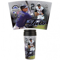 Colorado Rockies 16oz Travel Mug