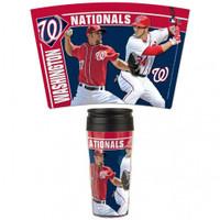 Washington Nationals 16oz Travel Mug