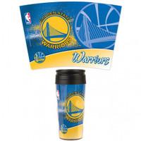 Golden State Warriors 16oz Travel Mug