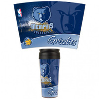 Memphis Grizzlies 16oz Travel Mug