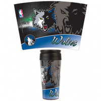 Minnesota Timberwolves 16oz Travel Mug