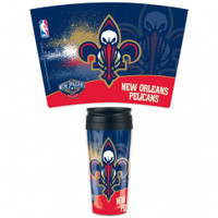 New Orleans Pelicans 16oz Travel Mug