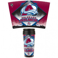 Colorado Avalanche 16oz Travel Mug