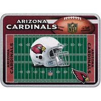 Arizona Cardinals Glass Cutting Board