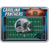 Carolina Panthers Glass Cutting Board