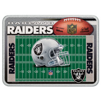 Oakland Raiders Glass Cutting Board