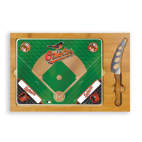 Baltimore Orioles Wood Cutting Board