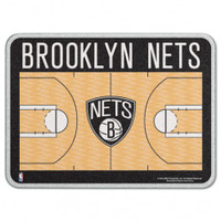 Brooklyn Nets Glass Cutting Board