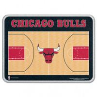Chicago Bulls Glass Cutting Board