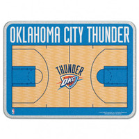 Oklahoma City Thunder Glass Cutting Board