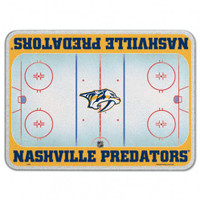 Nashville Predators Glass Cutting Board