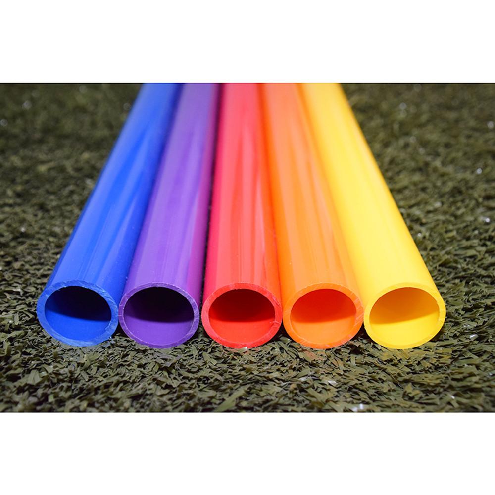 Color pvc quot pipe long each
