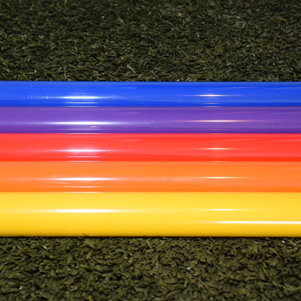 """Color PVC 1"""" Pipe 35 1/2"""" Long $4.95 Each"""