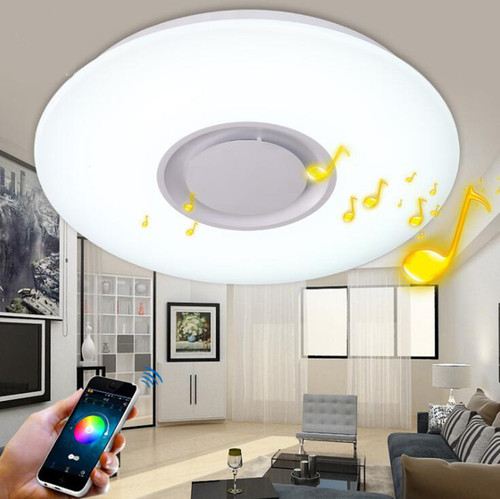 Led Ceiling Lights Mobile App Control Bluetooth Speaker