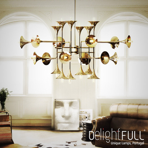 Botti Chandelier Light LED Modern Style Italy Design DelightFULL ...