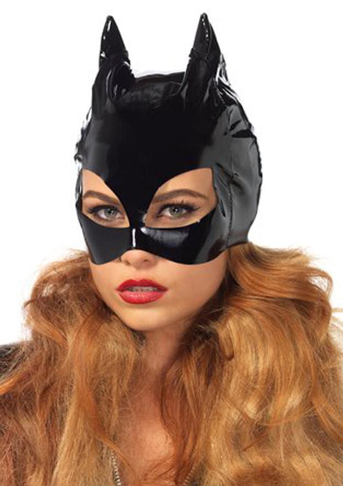 Vinyl Catwoman Mask by Leg Avenue (One size)