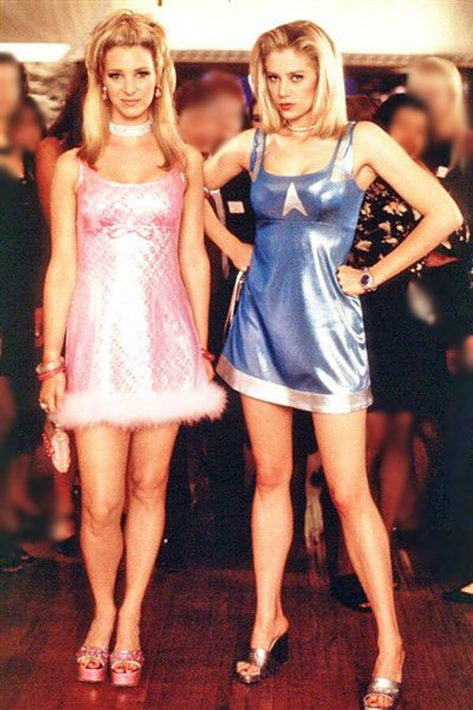 "Blue dress from ""Romy & Michele's High School Reunion"" movie"