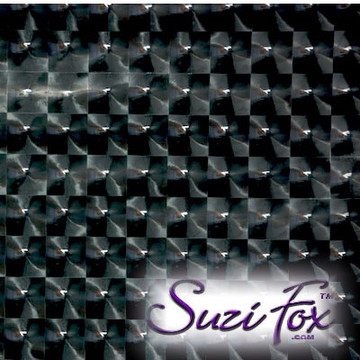 """Black 3D Prism Vinyl/PVC coated Spandex (per yard). Four Way Stretch. 80% Nylon, 20% Spandex.  Prism allows light to reflect from every angle! Polyurethane coated. Very glossy! This fabric is very tight, 4-way stretch with about a 2"""" stretch. It will hide minor cellulite and hold in small love handles. Vinyl will separate from backing if worn too tight or if rubbed excessively. If you like PVC, you will LOVE this fabric! It's also a great alternative to latex.  Available in black 3D Prism, red 3D Prism, Turquoise 3D Prism, Baby Blue 3D Prism, Hot Pink 3D Prism; gloss black, white, red, navy blue, royal blue, turquoise, purple, Neon Pink, fuchsia, light pink, matte black (no shine), matte white (no shine).  Hand wash inside out in cold water, line dry. Iron inside out on low heat. Do not bleach."""