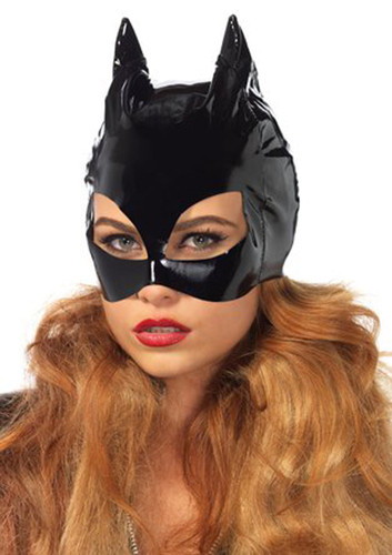 Vinyl Catwoman Mask by Leg Avenue (One size)