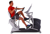 octane fitness xr6 seated elliptical side view