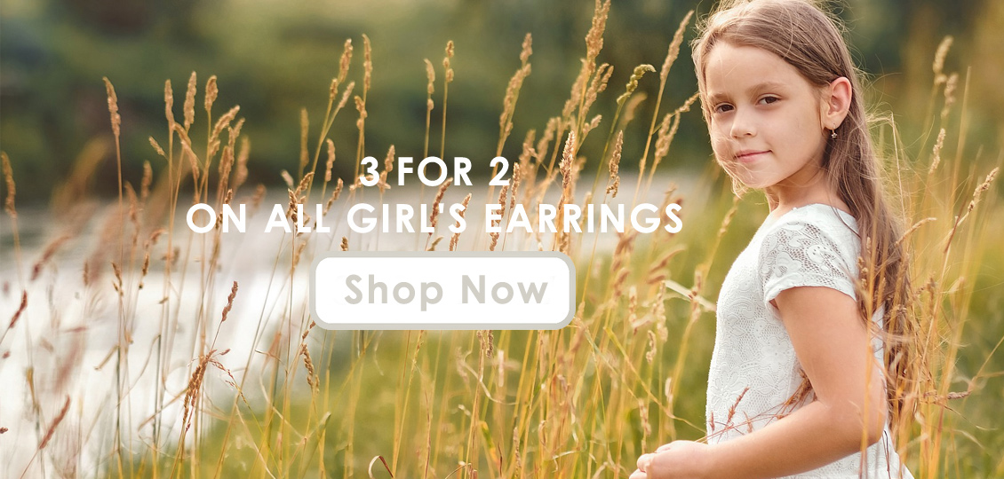 3 for 2 on girls earrings