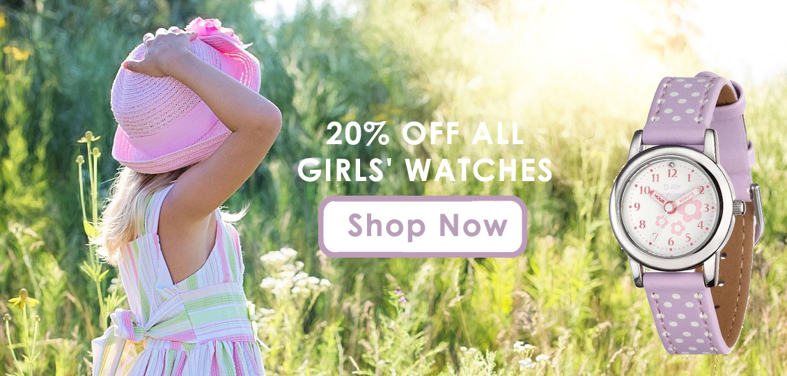 20T off girls' watches