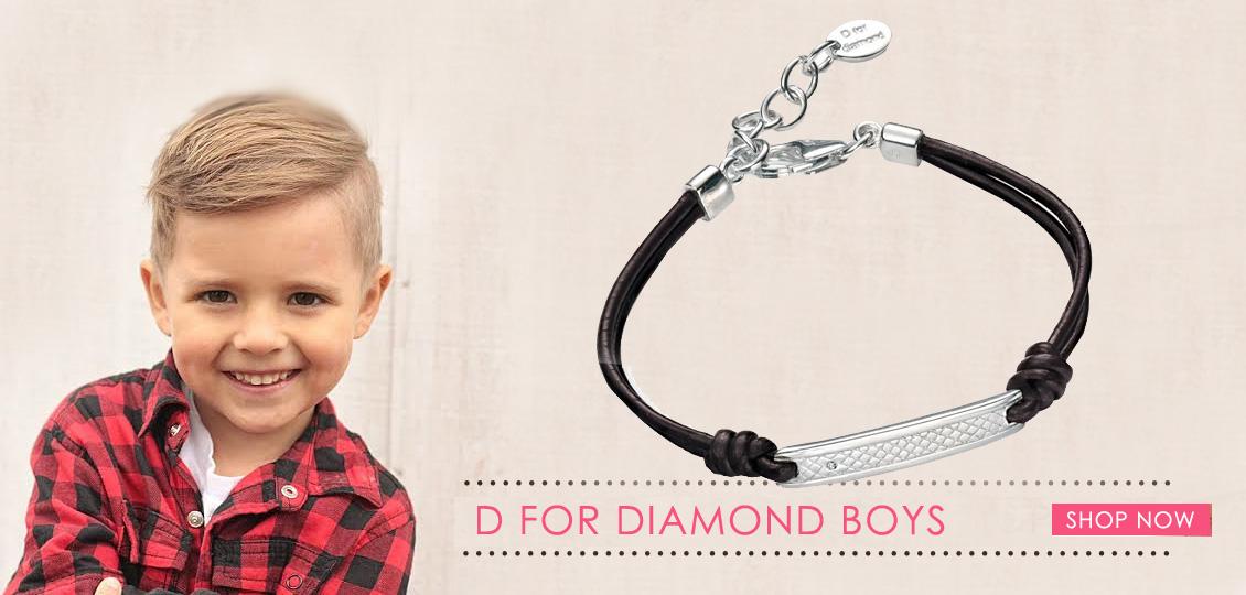 D for Diamond Boys Jewellery