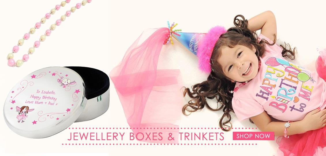Children's jewellery boxes