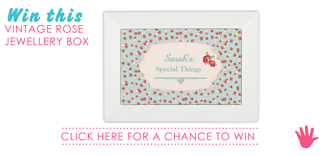 Win a personalised jewellery box