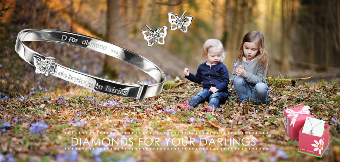 D for Diamond Childrens Jewellery