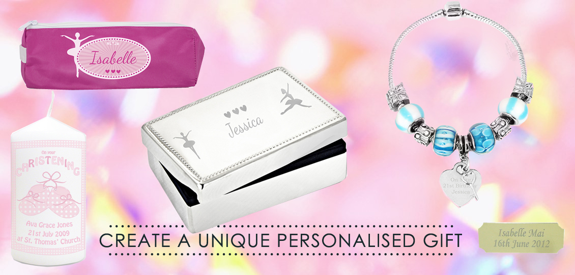 Personalised kids jewellery and gifts