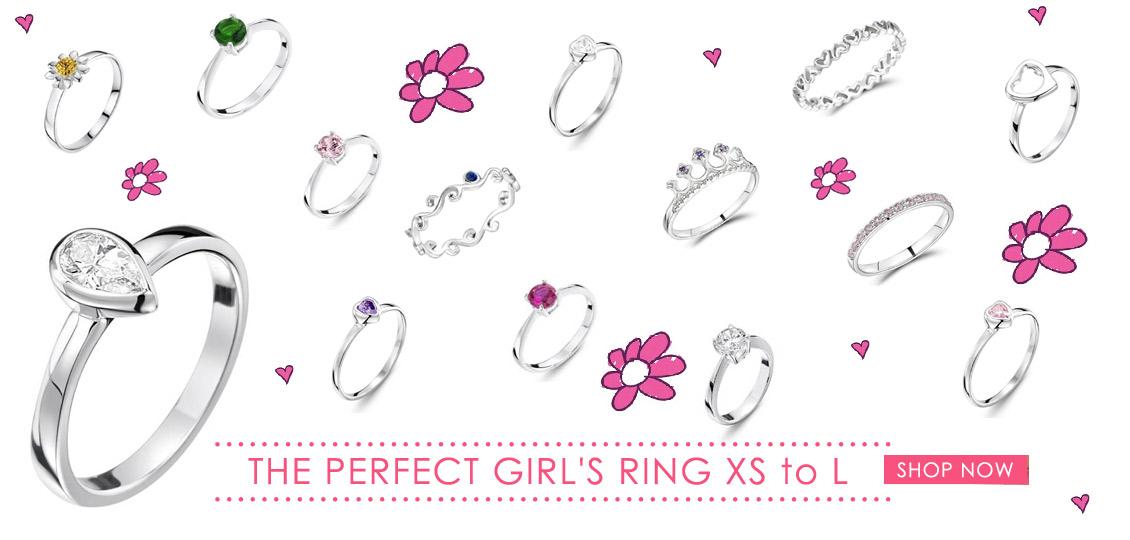 Girls rings - Childrens rings