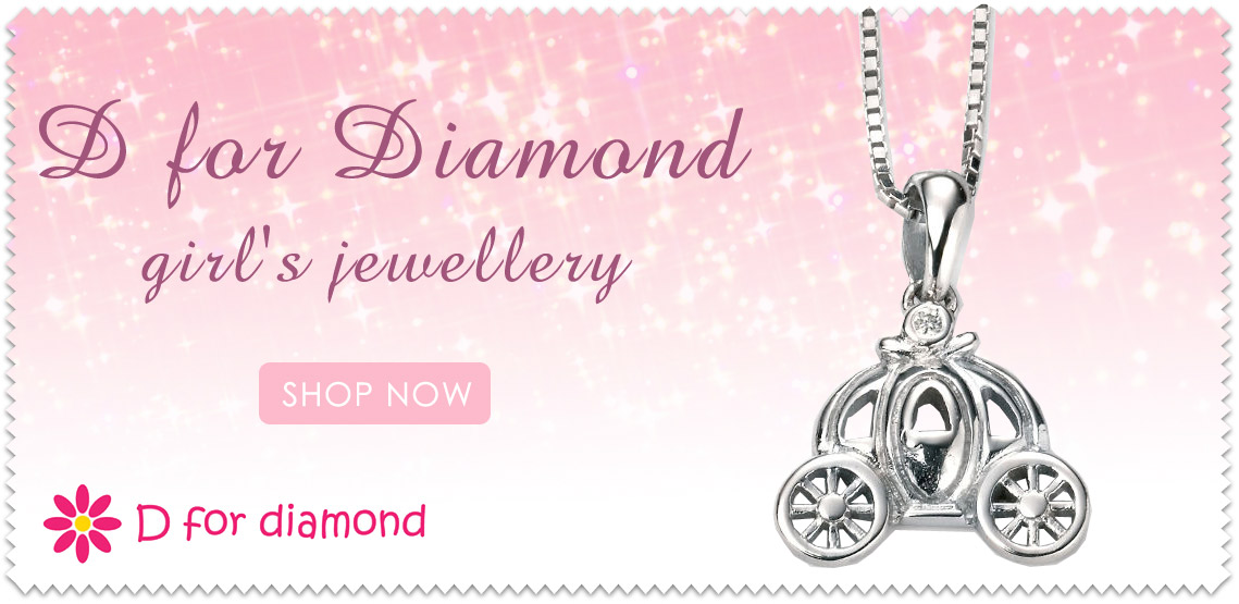 D for Diamond Children's Jewellery